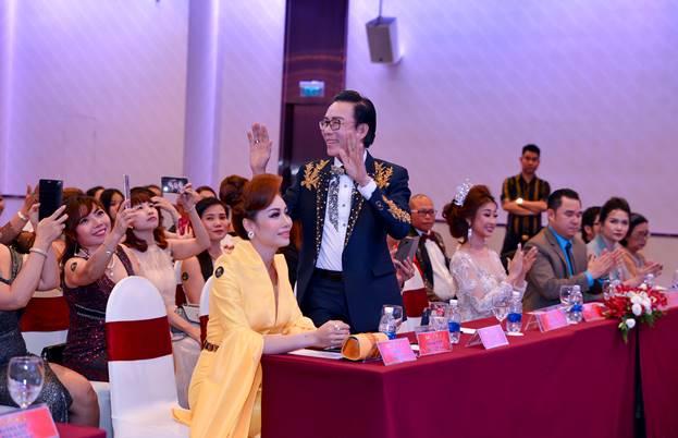 Doanh nhân Tôn Thất Khải làm giám khảo cho Hoa hậu doanh nhân hòa bình 2019