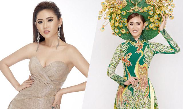 Bất ngờ với loạt ảnh đẹp của tân Á hậu 2 Miss All Nations 2019