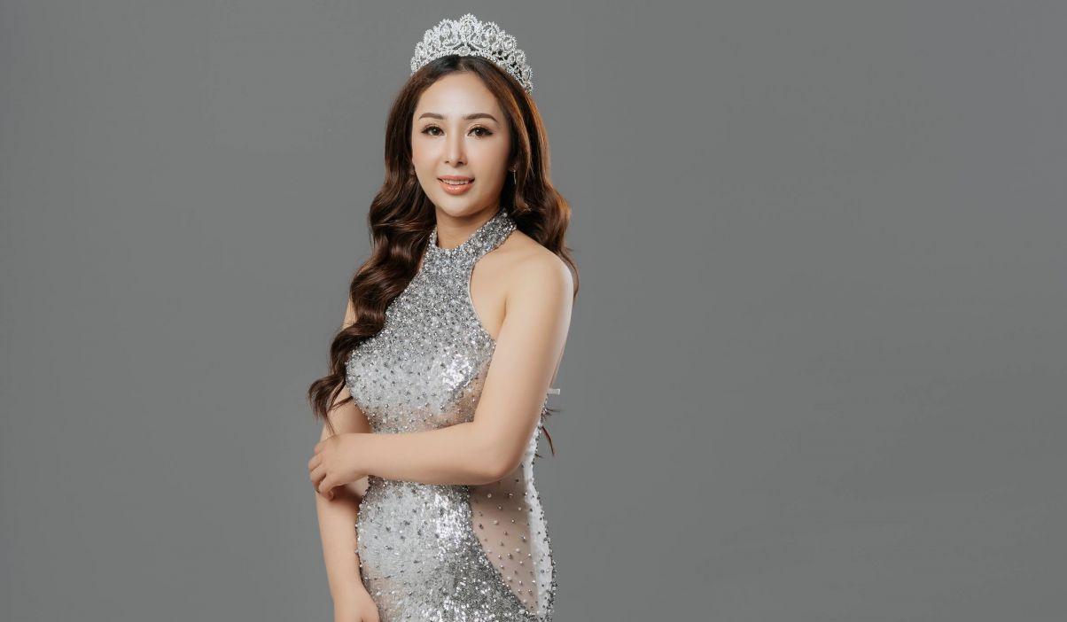 Nữ thí sinh Ms Business World Peace 2019 với giấc mơ tôn vinh nhan sắc Việt