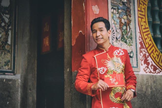 """Phong Vũ, gương mặt mới của showbiz ra mắt album nhạc xuân """"Mùa xuân đó có em"""""""