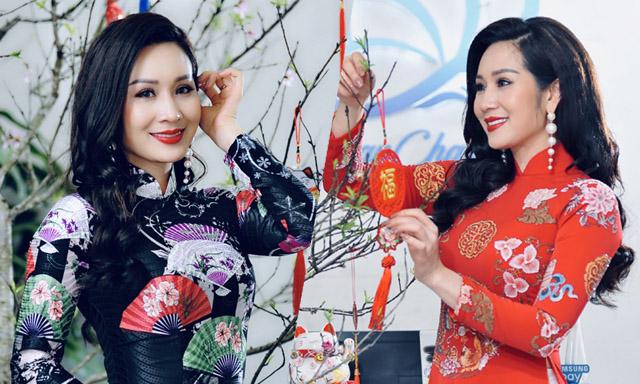 Hoa hậu Vũ Loan tự tay bài trí không gian mới cho LoanCharm Spa