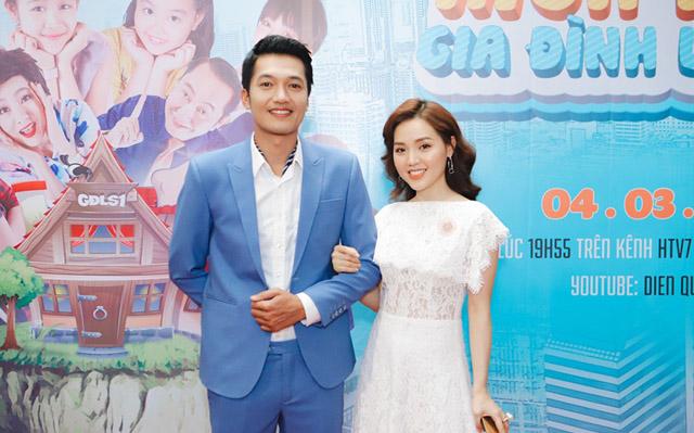 Vợ Quang Tuấn không ghen khi chồng đóng cảnh thân mật với Diệu Nhi