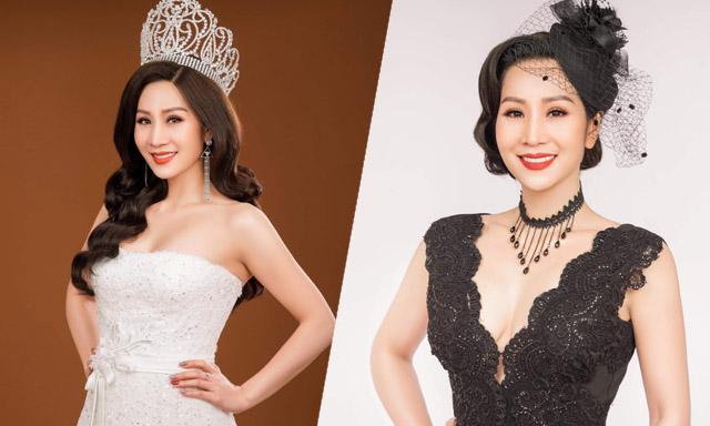 Hoa Hậu Vũ Loan khoe vẻ đẹp quyến rũ với đầm dạ hội