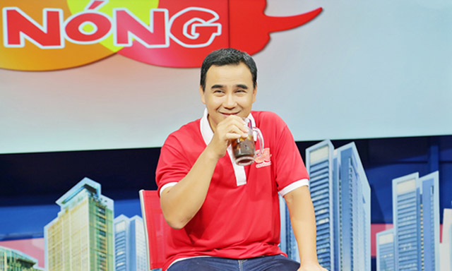 """Quyền Linh làm MC chuyên mục """"Ghế Nóng"""" hàng ngày trên kênh HTV9"""