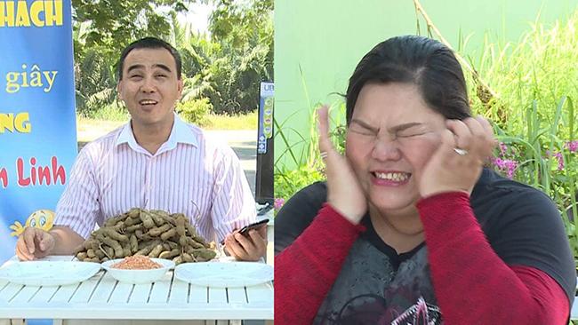 """MC Quyền Linh thử thách Tuyền Mập giảm cân bằng cách """"Ăn me chua"""""""