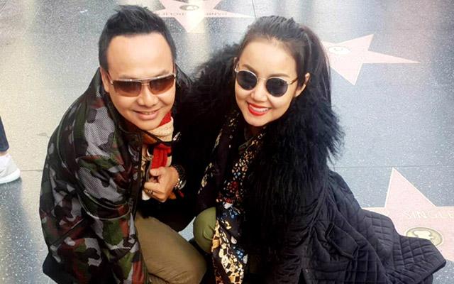 """Diễn viên Trường Thịnh sang Mỹ cùng Amy Lê Anh chuẩn bị cuộc thi """"Queen's and King's"""""""