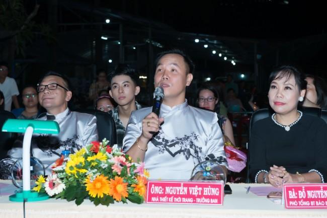 NTK Việt Hùng đồng hành cùng sân chơi Duyên dáng áo dài Việt Nam tỉnh Bà Rịa - Vũng Tàu