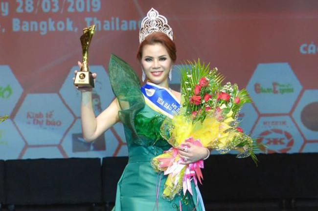 Vượt qua rất nhiều ứng viên sáng giá, Diễm Giang đăng quang ngôi vị Hoa hậu