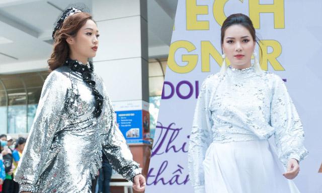 """NTK Việt Hùng gây ấn tượng mạnh với BST """"Kiêu sa"""" tại Lễ phát động HUTECH Designer 2019"""