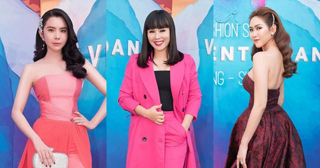 """Bộ ba Hằng Nguyễn – Huỳnh Vy – Trúc Ny """"khuấy đảo"""" thảm đỏ thời trang"""