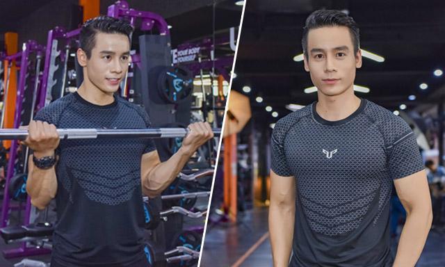"""Cao Xuân Tài """"tăng tốc siết cơ"""" cùng thí sinh trước chung kết Vietnam Fitness Model 2019"""