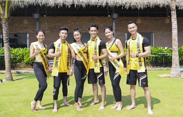 Thí sinh Vietnam Fitness Model 2019 hăng say đánh quyền múa võ vẽ tranh