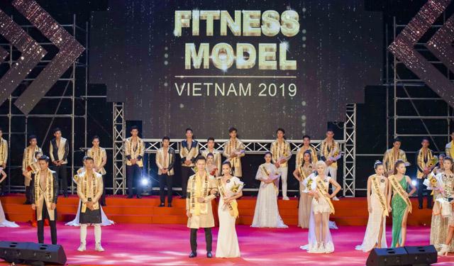 Xuân Đạt, Xuân Quỳnh đăng quang Quán quân Vietnam Fitness Model 2019