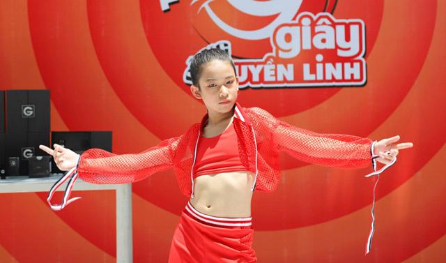 """Cô bé Hanie Hân vượt qua """"Thử thách 99 giây cùng Quyền Linh"""""""