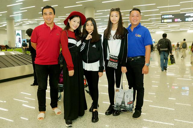 Gia đình MC Quyền Linh du lịch Quảng Châu kết hợp thăm khám sức khỏe