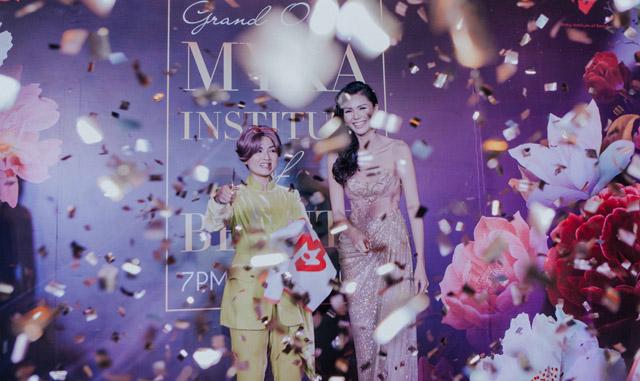 Hoa hậu Kim Nguyên tái xuất showbiz với dự án Myka Institute of Beauty
