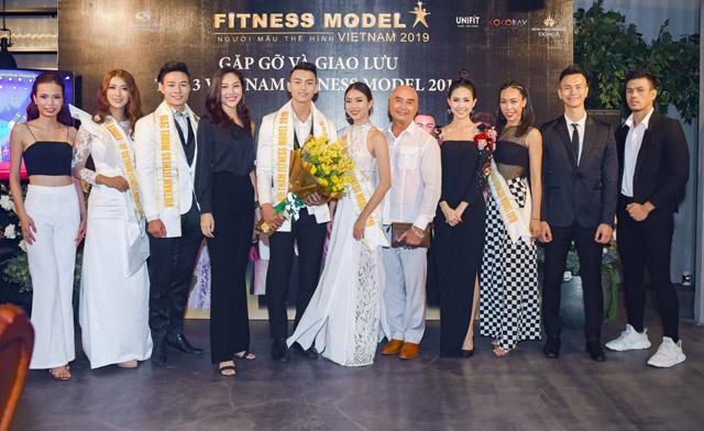 Top 3 Vietnam Fitness Model 2019 chuẩn bị chinh chiến đấu trường quốc tế