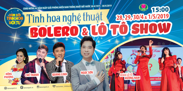 Sao Việt hội tụ mang tiếng cười đến khán giả Đầm Sen