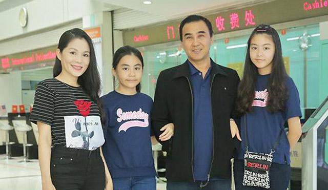 MC Quyền Linh cùng gia đình khám tầm soát tại Bệnh viện ung thư St.Stamford