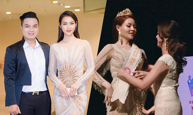 Thí sinh Hoa hậu Hàn mặc trang phục nhà thiết kế Đức Vincie thi chung kết