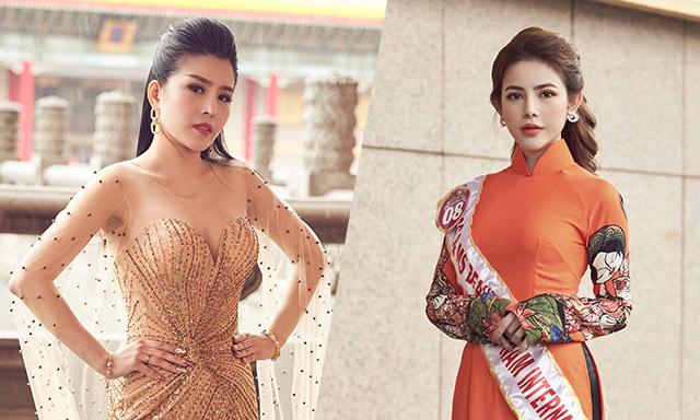 Ngẩn ngơ nhan sắc xinh đẹp của top 20 Hoa hậu sắc đẹp Việt Nam Quốc tế 2019