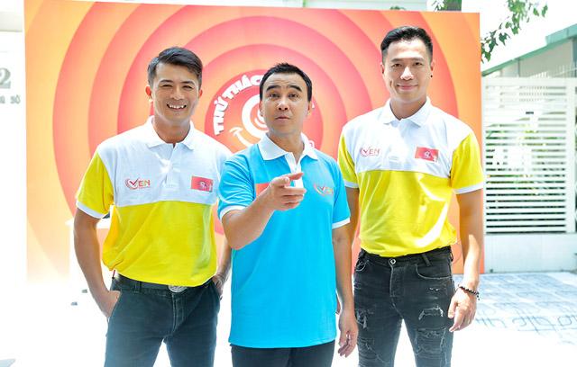 Diễn viên – siêu mẫu Lê Quang Hòa tham gia vào thử thách 99 giây cùng Quyền Linh