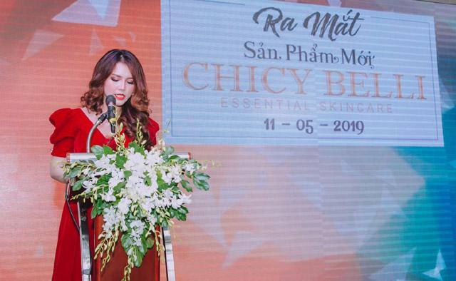 Thương hiệu Chicy Belli chính thức ra mắt thị trường làm đẹp