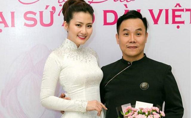 """Diễn viên Ngọc Lan: """"Trân trọng NTK Việt Hùng vì những tâm huyết với áo dài"""""""