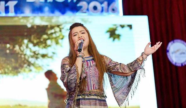 Jeannie Kim Tuyến với niềm đam mê ca hát luôn rực cháy