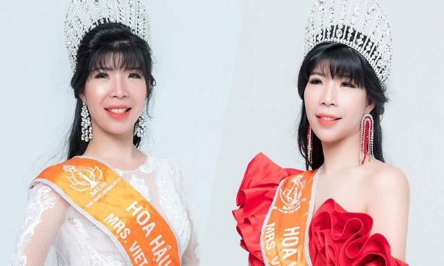 Hoa hậu Trần Thị Mỹ Tiên ngồi ghế nóng cuộc thi Bước chân Thiên thần mùa 2