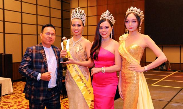 Hoa hậu và Nam vương Doanh nhân Thế giới Malaysia 2019 gọi tên Phạm Trần Hoa Quyên