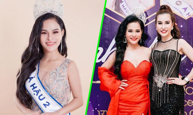 Á hậu Huỳnh Mai về nước dự tiệc Thanks Party