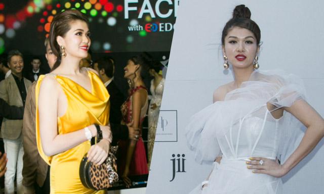 Hoa hậu Oanh Yến khoe vóc dáng đồng hồ cát gợi cảm khi là khách mời Asia Model Festival tại Hàn Quốc