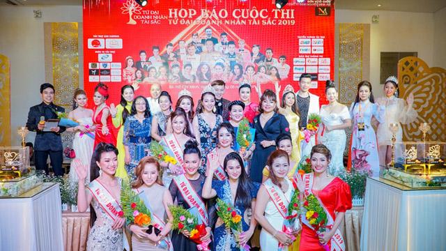 Tứ đại Doanh nhân tài sắc 2019 - Cuộc thi tìm kiếm tứ trụ Doanh nhân tài năng Việt Nam