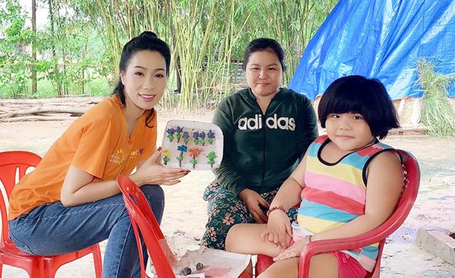 NSƯT Trịnh Kim Chi bàng hoàng trước bệnh tật của bé Như Ý