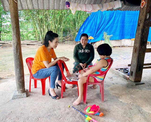 NSƯT Trinh Kim Chi lặng người trước hoàn cảnh của cô bé 7 tuổi Như Ý