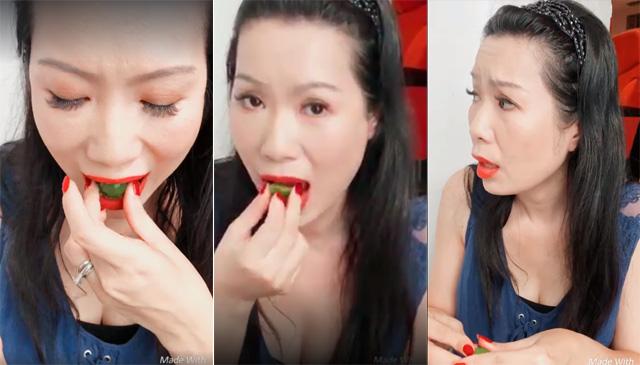 """NSƯT Trịnh Kim Chi làm fan """"phát cuồng"""" khi ăn sáng bằng trái tắc"""