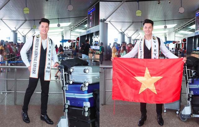 Đặng Hiếu Đức lên đường chinh chiến tại Mister National Universe 2019