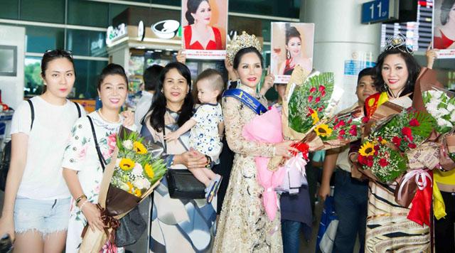Võ Thanh Thuỷ lộng lẫy với vương miện Mrs Ambassador Vietnam International 2019