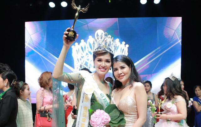Hoa hậu Oanh Yến đăng quang Nữ hoàng làm đẹp 2019 - Queen of Beauty World