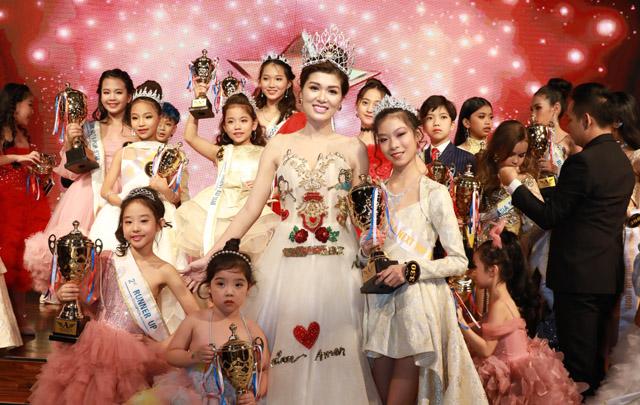 """Nữ hoàng Oanh Yến vừa đăng quang được mời ngồi """"ghế nóng"""" Asia Next Top Kid Model"""
