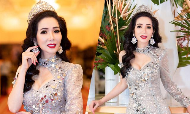 Hoa hậu Vivian Trần khoe nhan sắc nữ thần sau đăng quang