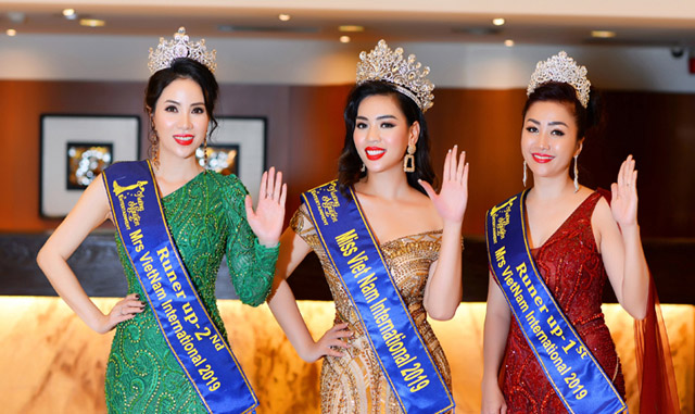 Nữ doanh nhân Mai Diệu Tuyết Nhung đoạt vương miện Miss Vietnam International 2019