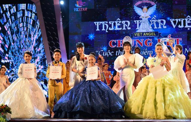 Những thí sinh xuất sắc đạt giải nhất tài năng cuộc thi Thiên Thần Việt 2019