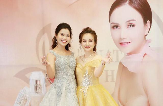 Hoa hậu Nguyễn Ngọc Xuân Mai rạng rỡ tại sự kiện của diễn viên Hoàng Yến