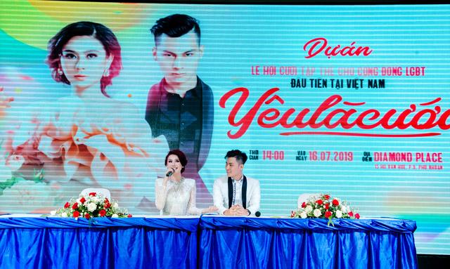 Lâm Khánh Chi chi hơn 2 tỷ đồng để làm dự án Lễ hội cưới tập thể cho cộng đồng LGBT