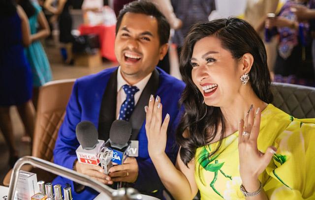 Nguyễn Hồng Nhung làm đại sứ thương hiệu ngành nail tại Mỹ