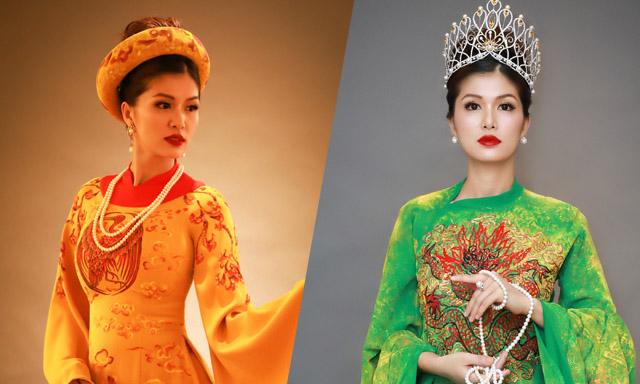 Hoa hậu - Nữ hoàng 5 con Hồ Oanh Yến tựa nữ thần trước thềm tiệc tri ân