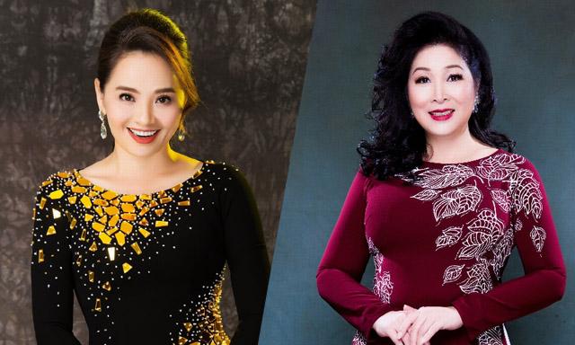 Bộ đôi gạo cội Hoài An - Hồng Vân cùng xuất hiện trong show thời trang của đàn em
