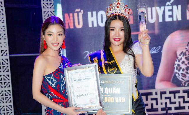 Trang Lê thành công khi huấn luyện Nguyễn Thị Hằng đăng quang ngôi vị quán quân